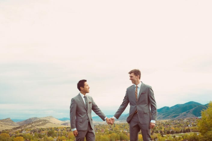 Rocky Mountain Same Sex Couple Elopement