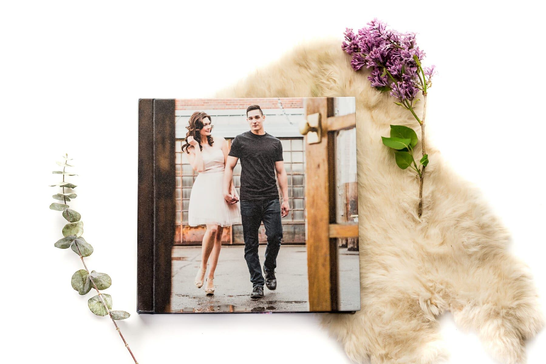 Hardcover - Custom wedding album design and printing service | From the Hip Photo