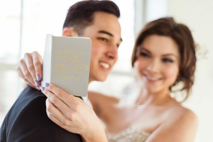 Romantic Wedding Vows Photo | Denver Colorado wedding photographer