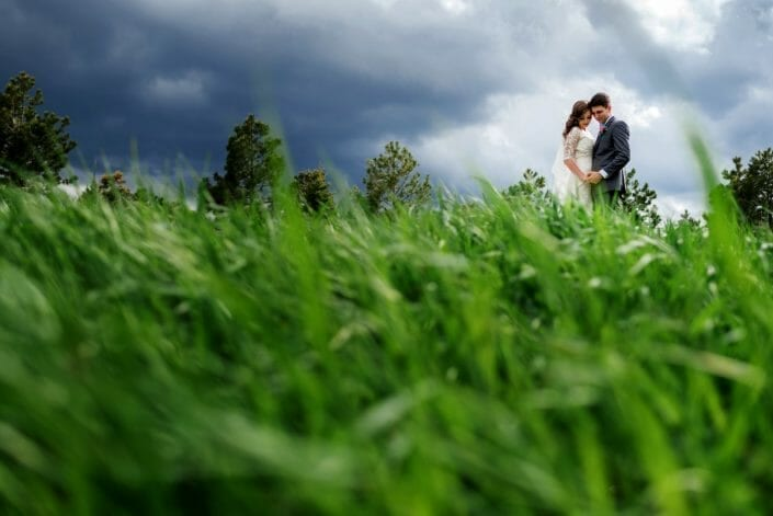 Romantic Wedding Photo | Denver Colorado wedding photographer