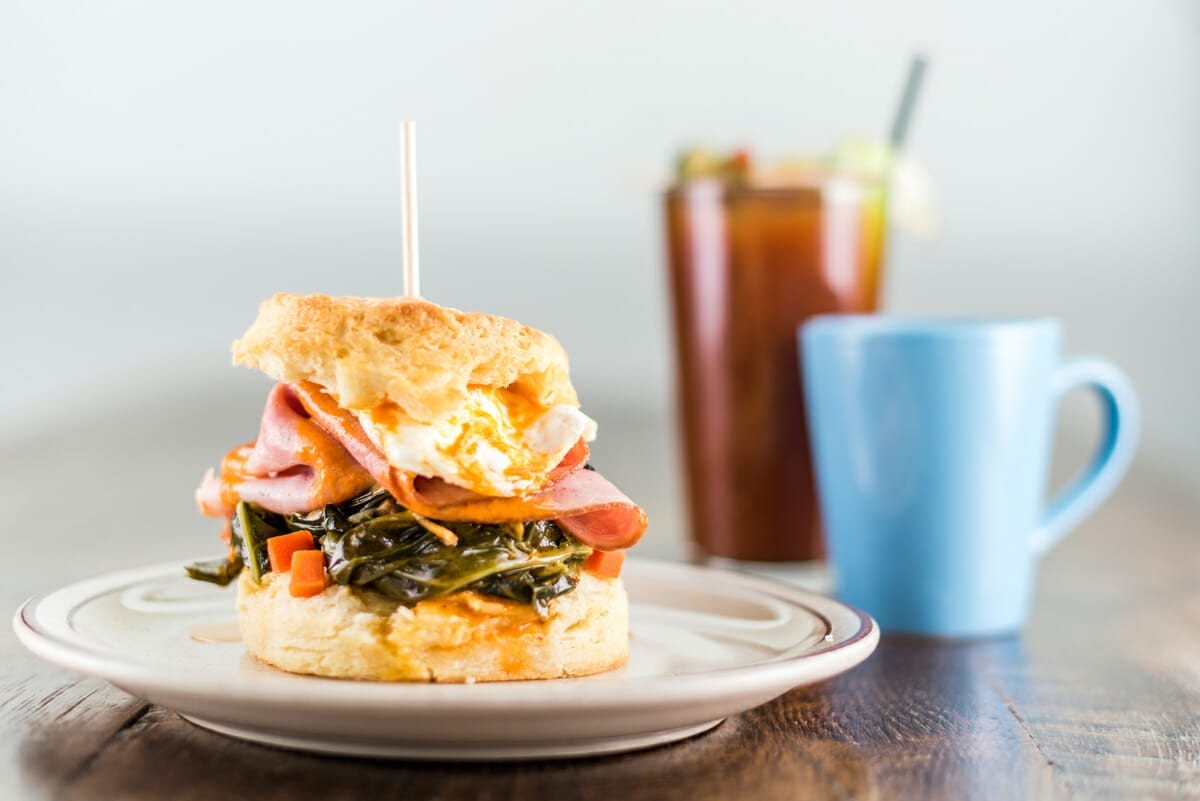 Denver Biscuit Company food photography by From the Hip Photo
