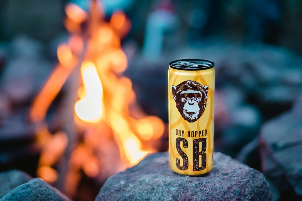 Infinite Monkey Theorem wine beverage product photography by From the Hip Photo