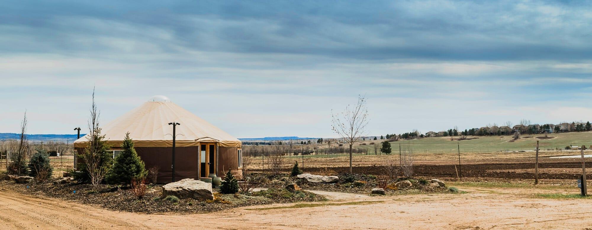 Denver Botanic Gardens Chatfield Farms Virtual Tour - The Yurt