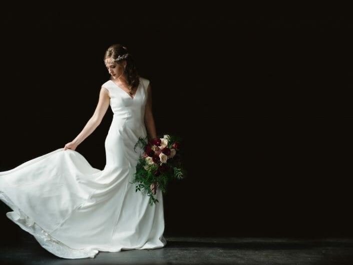 Studio Bridal Photo | Denver Colorado Wedding Photographer