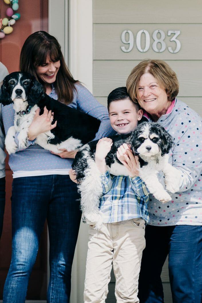 Front Porch Photo | Denver Colorado Family Photographer