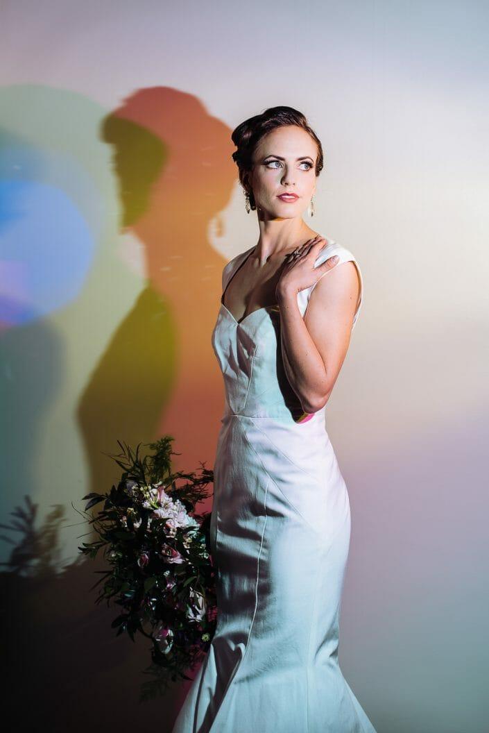 Studio Bridal Photo   Denver Colorado Wedding Photographer