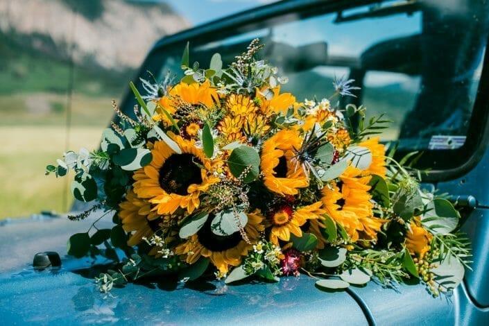 Wedding Details and Flowers Photo   Colorado Elopement Photographer