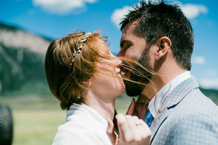 Fun Mountain Wedding Photo   Colorado Elopement Photographer