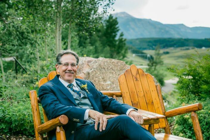 Father of the Bride Photo   Colorado Elopement Photographer