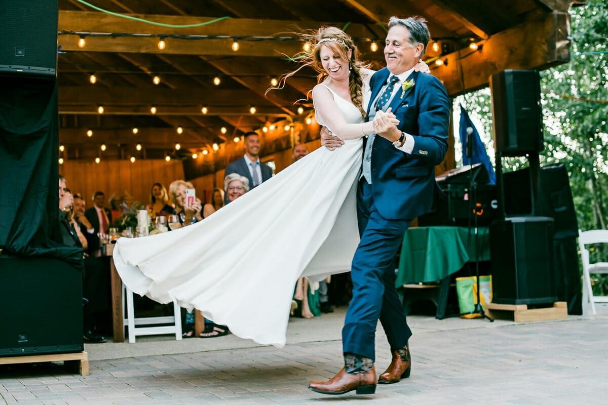 Wedding Dance Photo   Colorado Elopement Photographer