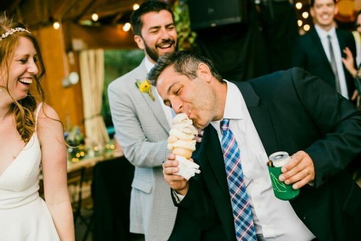 Crested Butte Wedding Reception Photo   Colorado Elopement Photographer