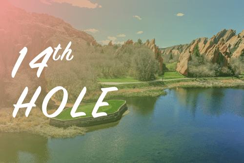 Arrowhead Golf Club 14th Hole virtual tour