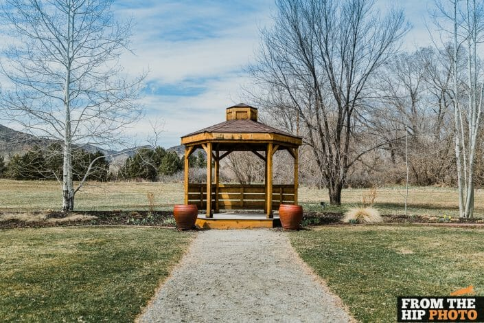 Denver Botanic Gardens Chatfield Farms   Colorado Wedding Photography Outdoor Ceremony Gazeebo
