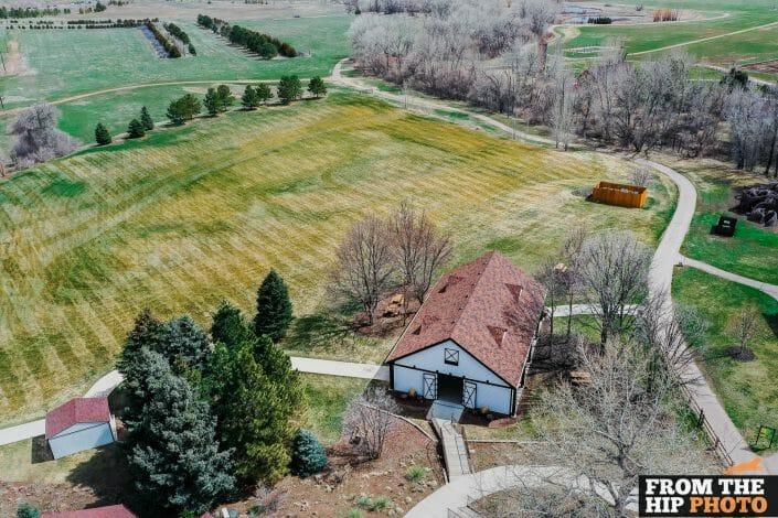 Denver Museum of Nature & Science   Colorado Aerial Drone Wedding Photography