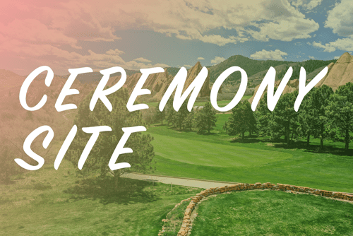 Arrowhead Golf Club Ceremony Site virtual tour walkthrough