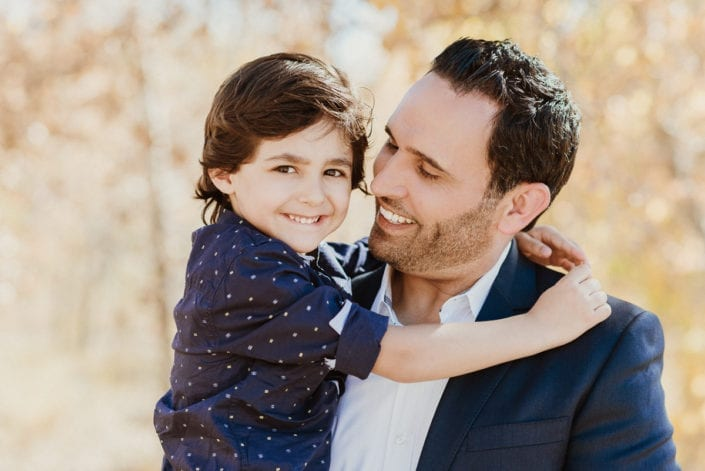 Family photo session in Denver Fall Foliage Trailhead | Colorado Lifestyle Photographer