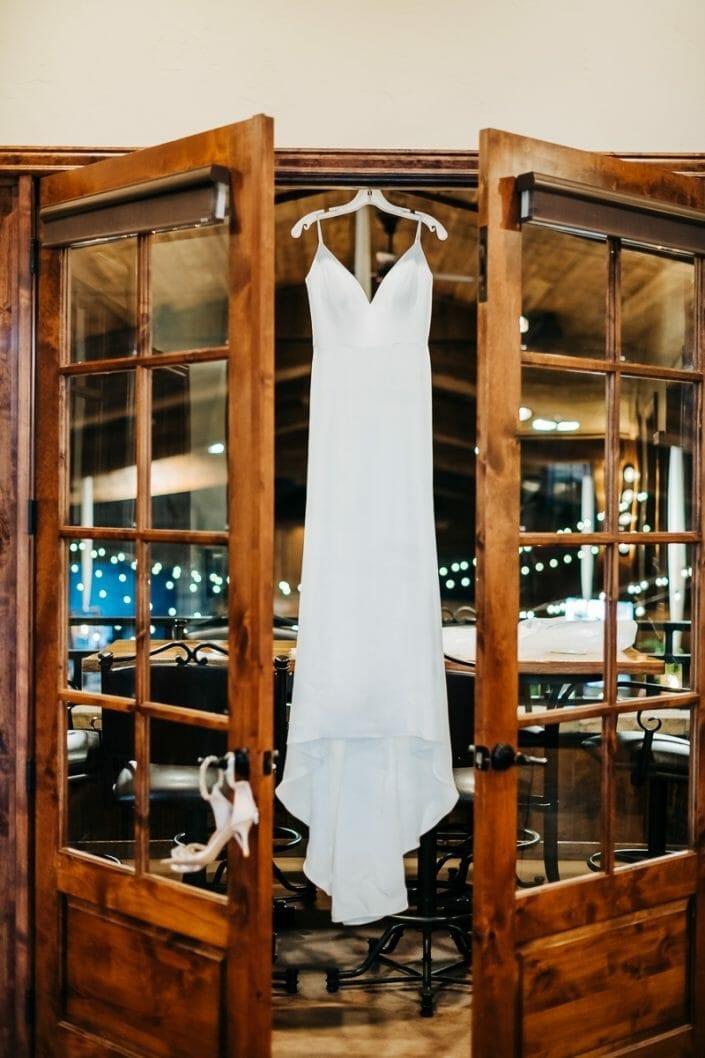 Wedding Dress | Larkspur Colorado Elopement Photographer