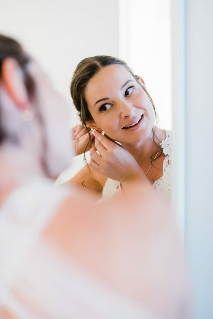 Urban Bride Getting Ready Photo Fort Collins | Colorado Elopement Photographer