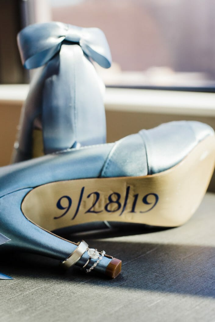 Wedding Shoes and Rings Photo | Denver Colorado Elopement Photographer