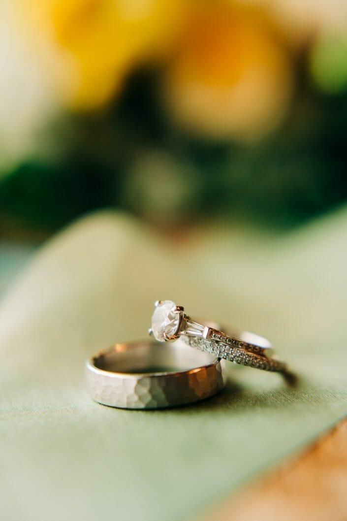 Wedding Rings | Larkspur Colorado Elopement Photographer