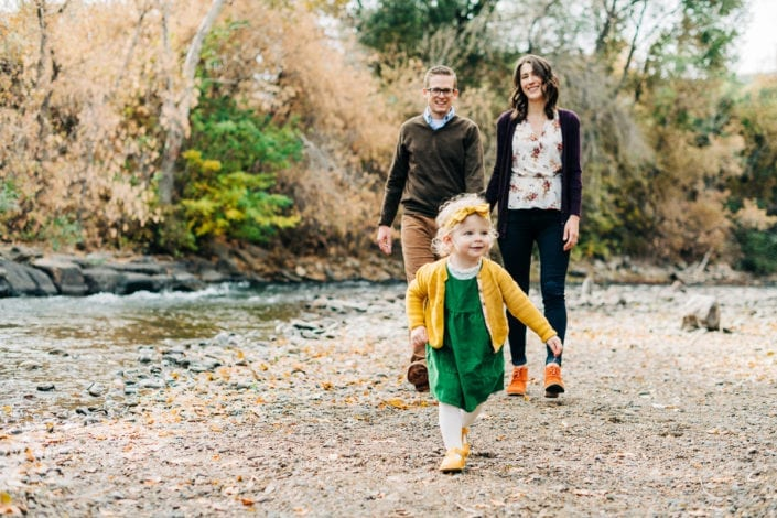 Fall Family Photo Session in Golden Mountain Creek | Denver & Boulder Family Photographer