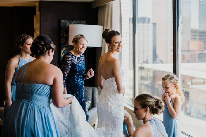 Wedding Party Photo | Denver Colorado Elopement Photographer
