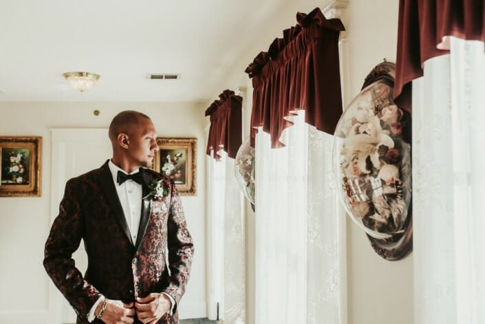Wedding Ceremony Groom | Denver Colorado Elopement Photographer