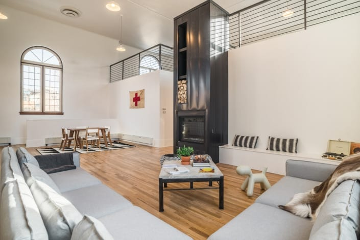 Open Modern Minimalist Kids Room Photo | Colorado Real Estate Photographer