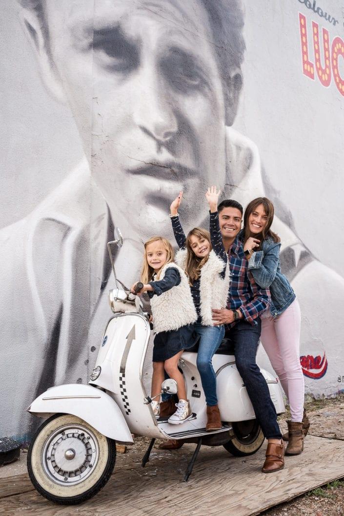 Family photo session in downtown RiNo Denver | Colorado Lifestyle Photographer
