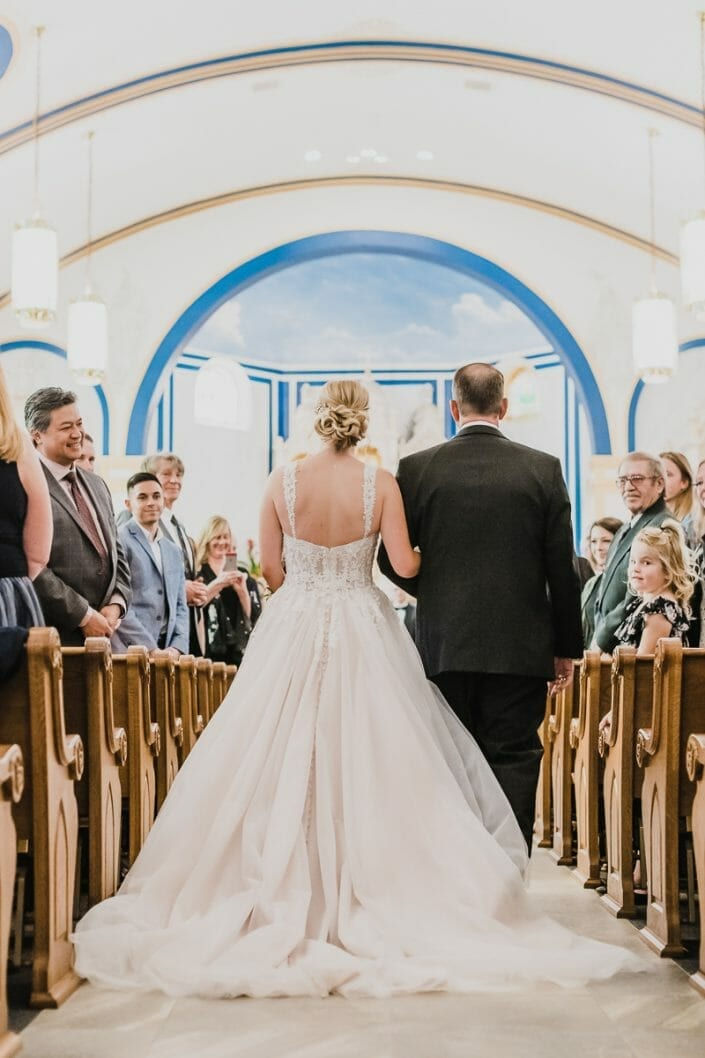 Elegant Church Wedding   Boulder Colorado Elopement Photographer