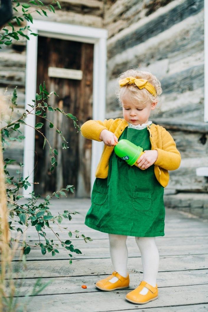 Fall Family Photo Session in Golden Mountain Creek | Denver & Boulder Family Photographer