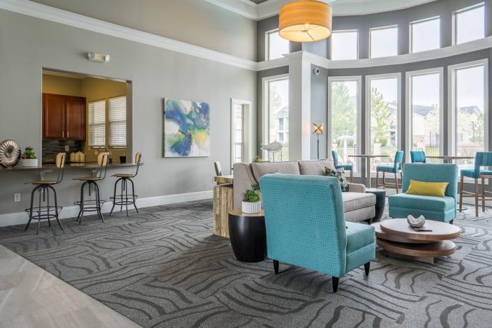 Open Colorful Living Space Photo | Colorado Real Estate Photographer