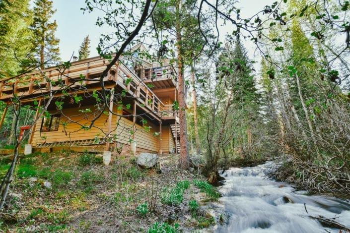 House Near River Photo | Colorado Real Estate Photographer