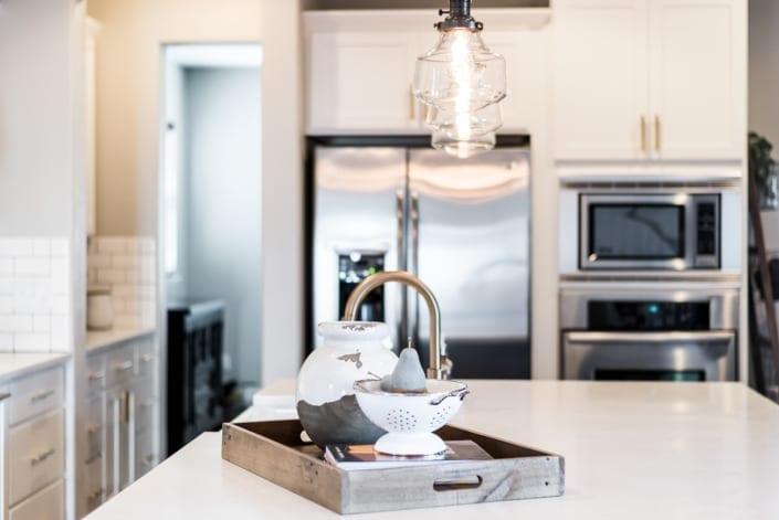 White Kitchen Details Photo | Colorado Real Estate Photographer