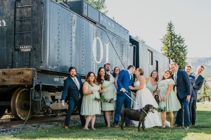 Romantic Mountain Wedding   Denver Colorado Elopement Photographer