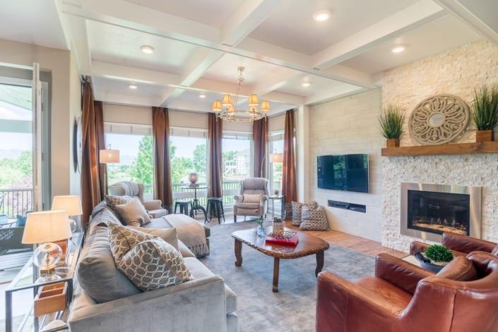 Bright Open Living Room Photo | Colorado Real Estate Photographer