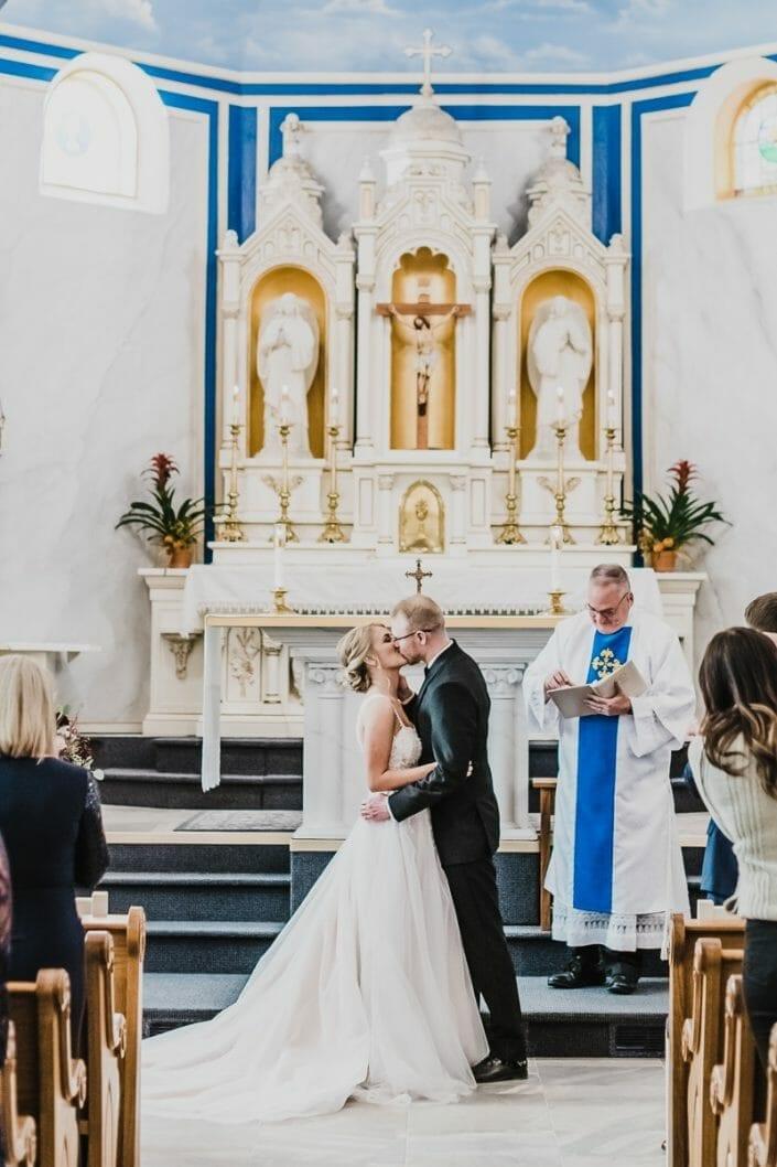 Elegant Church Wedding | Boulder Colorado Elopement Photographer