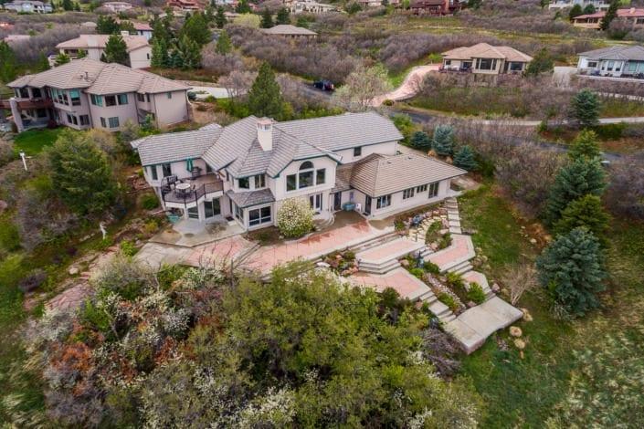 House Drone Photo | Colorado Real Estate Photographer