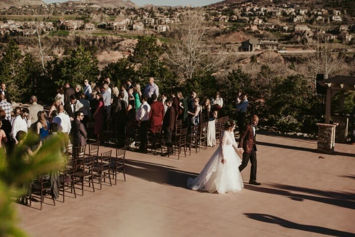 Wedding After Ceremony | Denver Colorado Elopement Photographer