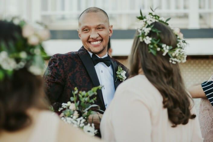 Wedding Groom Excited | Denver Colorado Elopement Photographer