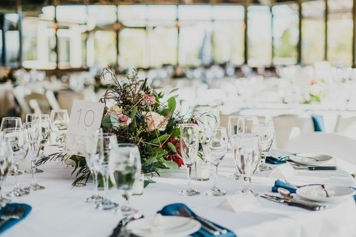 Wedding Reception Decor and Food | Boulder Colorado Elopement Photographer