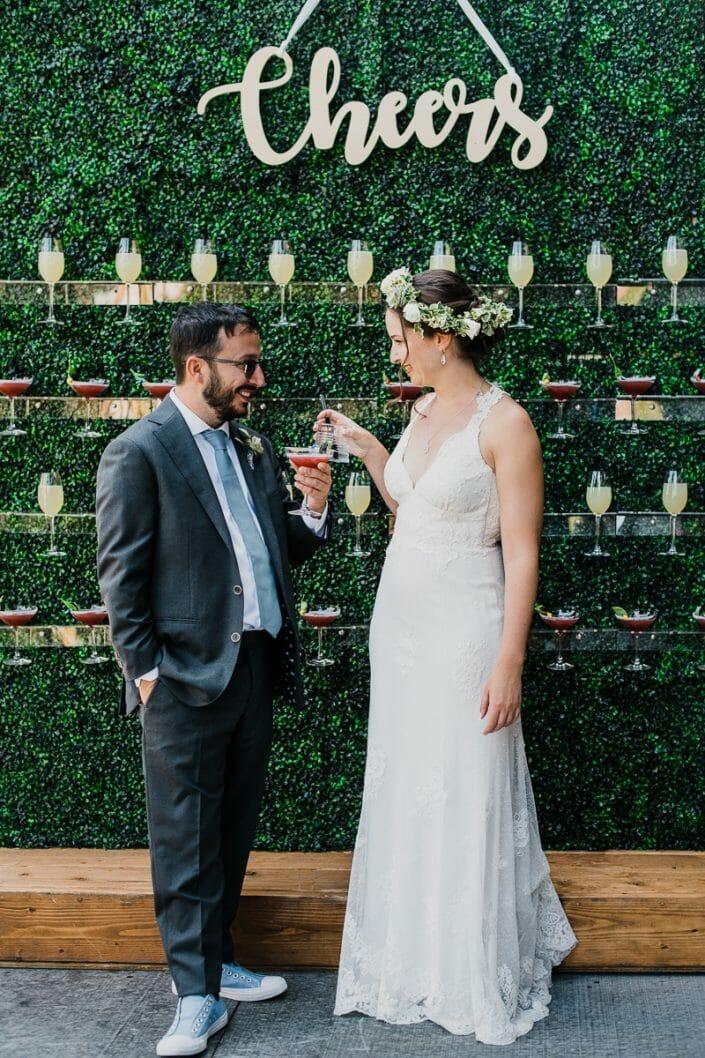 Urban Wedding Portrait Photo | Fort Collins Colorado Elopement Photographer