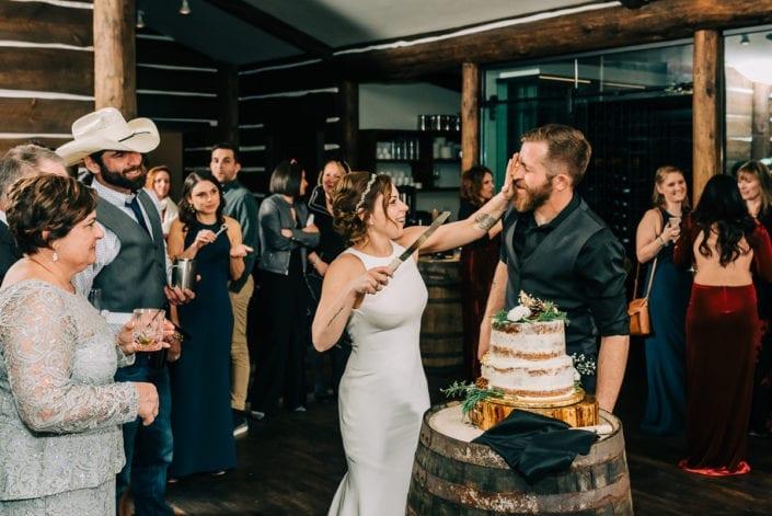 Wedding Reception in Winter   Colorado Elopement Photographer