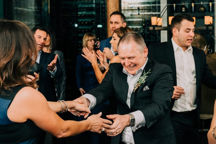 Wedding Reception in Winter | Colorado Elopement Photographer