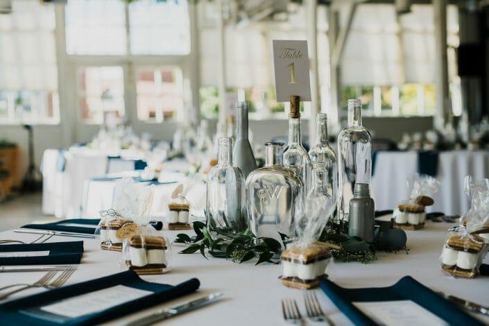 Urban Wedding Decor and Food Photo | Denver Colorado Elopement Photographer