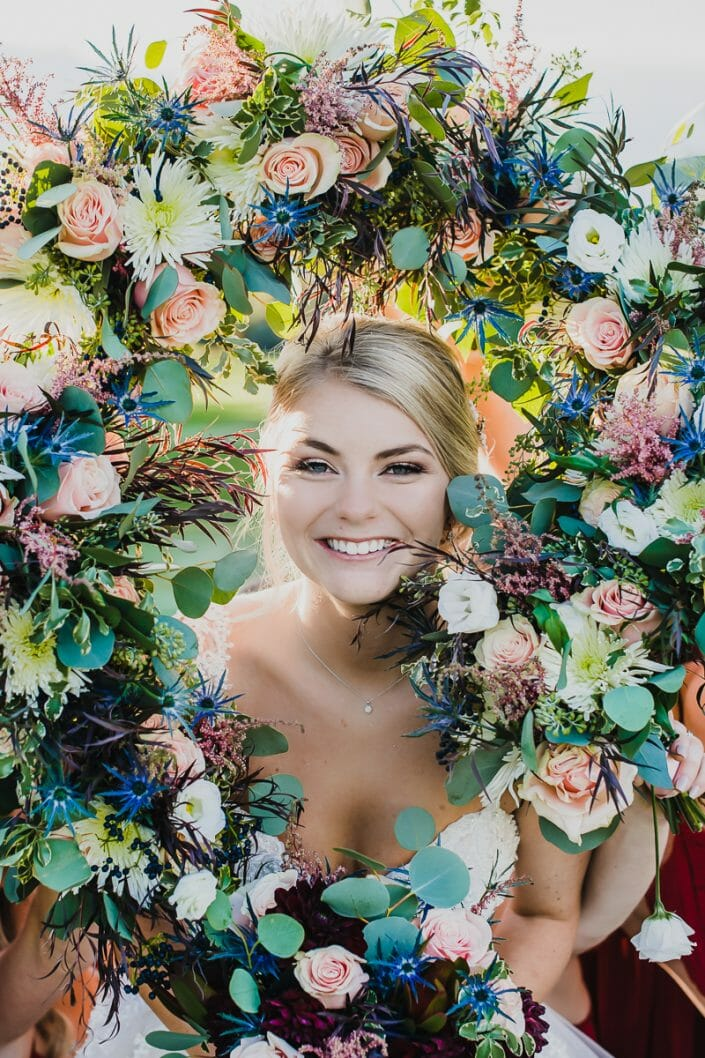 Midsommar Inspired Wedding Portrait | Boulder Colorado Elopement Photographer