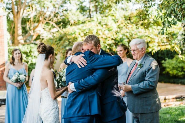 Urban Wedding Ceremony Photo | Denver Colorado Elopement Photographer
