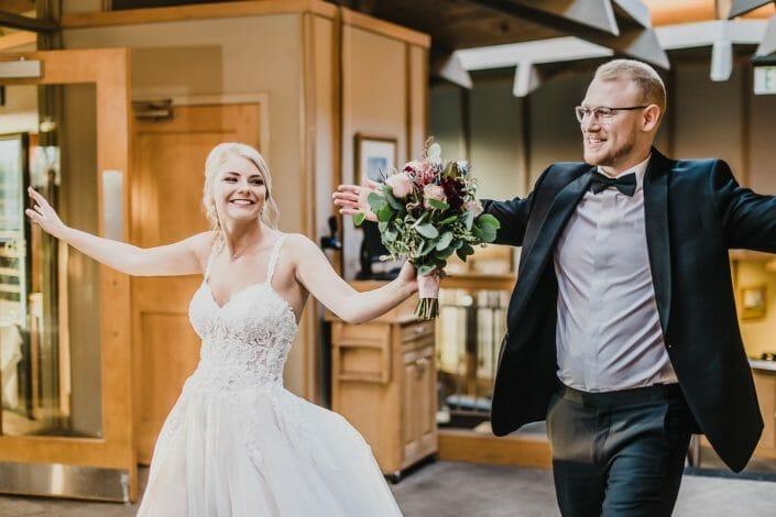 Elegant Wedding Reception | Boulder Colorado Elopement Photographer