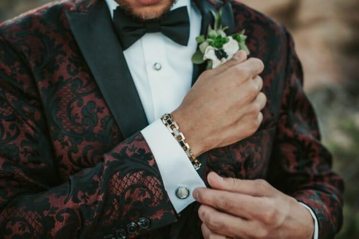 Wedding Groom Details | Denver Colorado Elopement Photographer