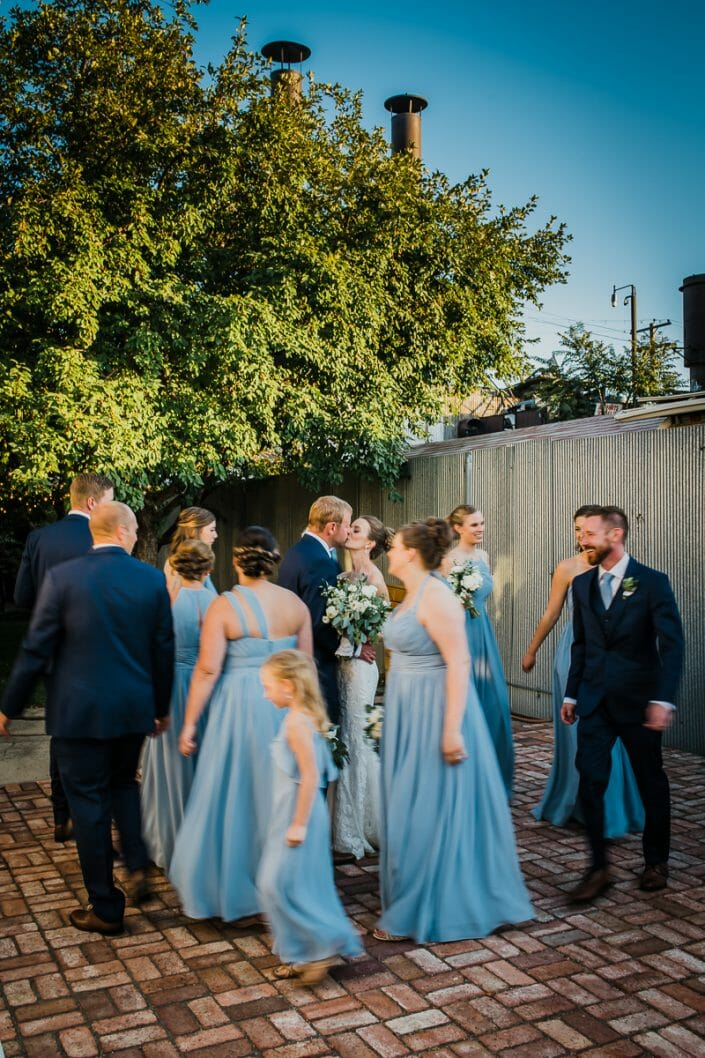Urban Wedding Party Photo | Denver Colorado Elopement Photographer